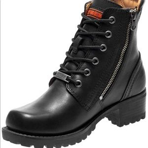 Harley combat boots